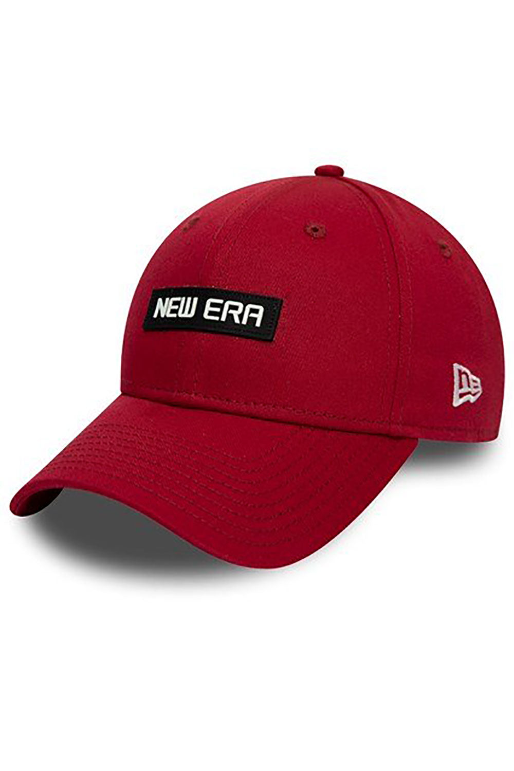 New Era Patch Essential Cap - Red
