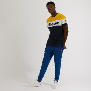 Ellesse Punto T-Shirt - Navy Yellow