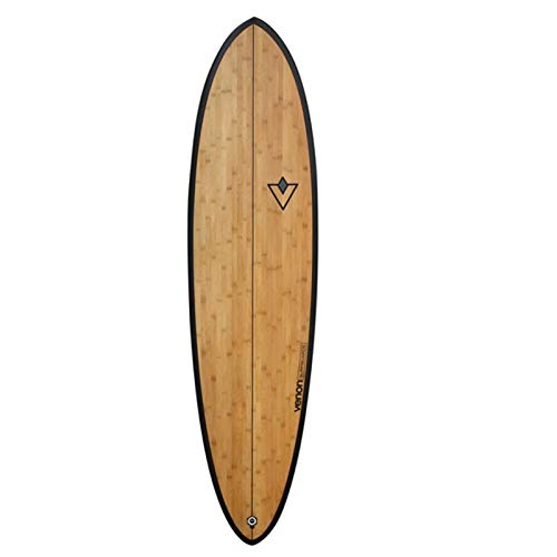 Venon Surfboard 7.2 Spindle Bamboo Funboard Wood Epoxy EPS