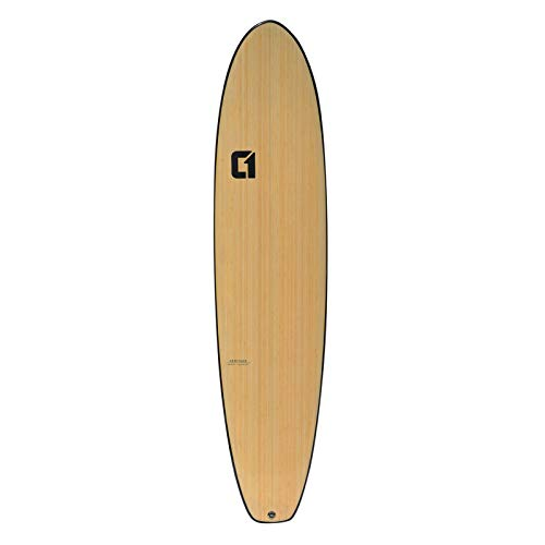 8' Bamboo Squash Tail Mini Mal Surfboard 2020