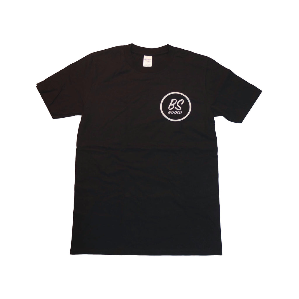 BS T-Shirt Black N White