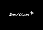 Board Stupid Palm sticker