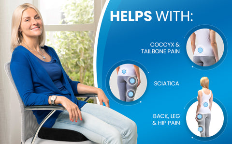 Helps to relieve back pain