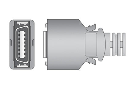 Colin bp99s Compatible SPO2 Sensor connector1