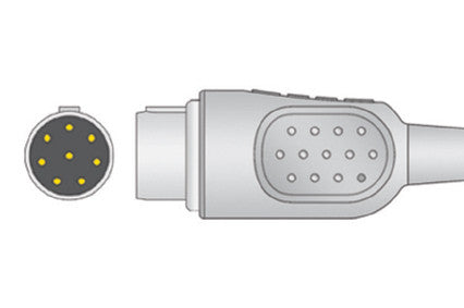 Philips Compatible One-Piece ECG Cable connector1