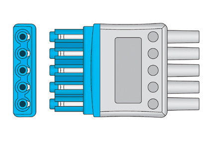 Philips M1671A ECG Yoke Connector connector1