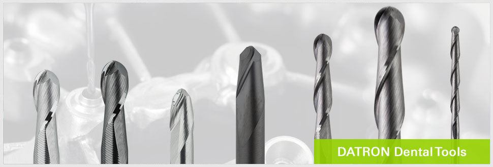 DATRON Dental milling tools compatible with all major CAD/CAM systems