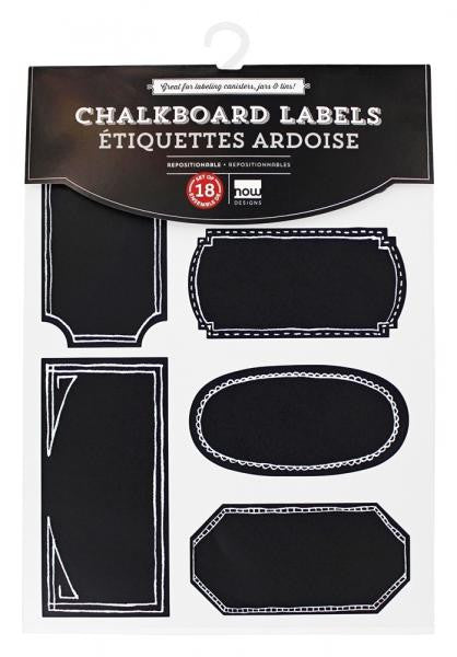 Chalkboard Labels Set of 18 / Large