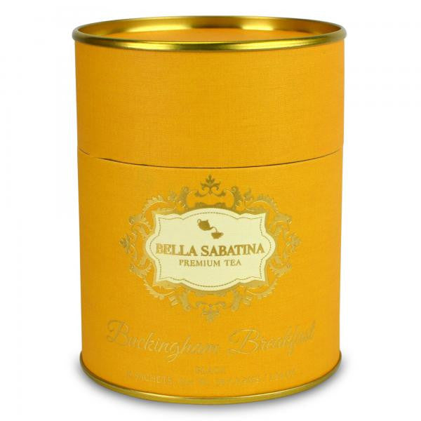 Bella Sabatina Tea Canister / Buckingham Breakfast