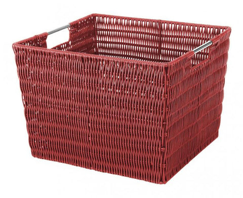Rattique Storage Tote / Red - Large