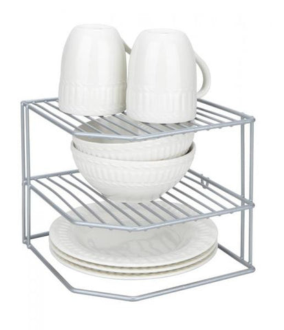 Corner Storage Rack - Grey