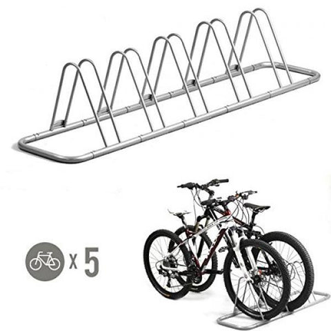 5 Bike Floor Rack