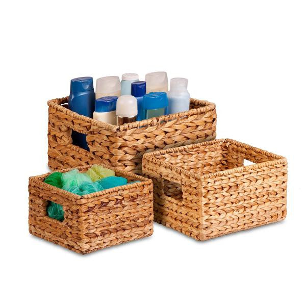 Woven Banana Leaf Basket- Medium