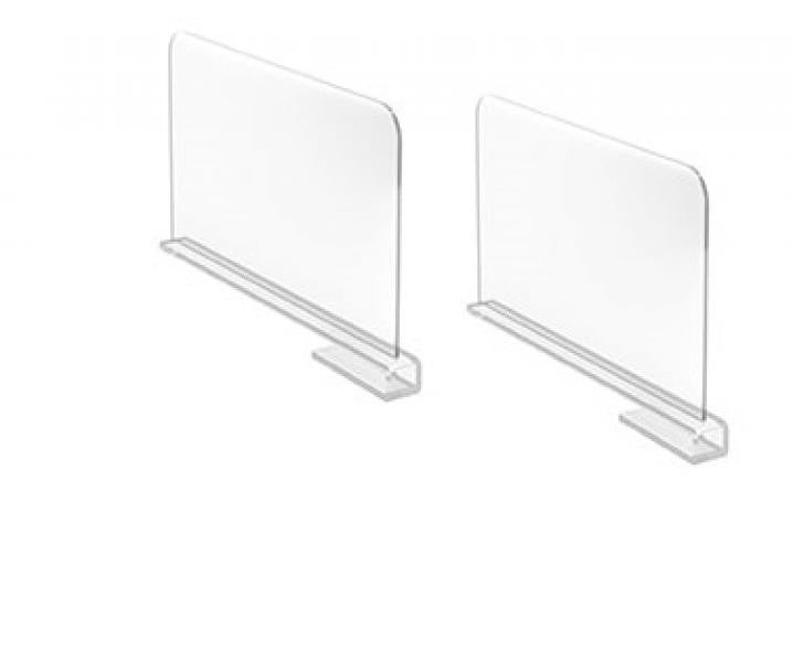 Acrylic Shelf Divider / Set of 2