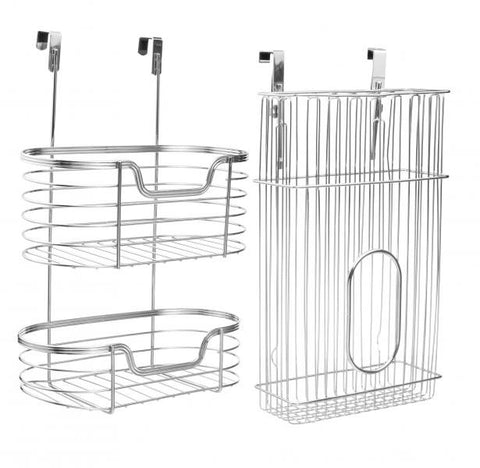 Cabinet Door Organizers Set / Stainless