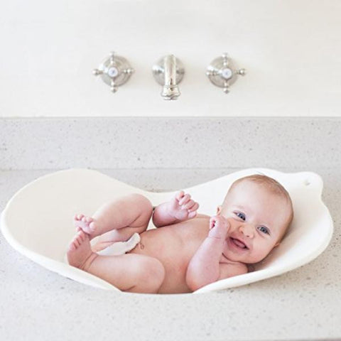 Flyte Foldable Baby Bath / White