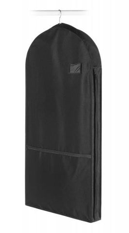 Deluxe Garment Bag with Pocket / Black