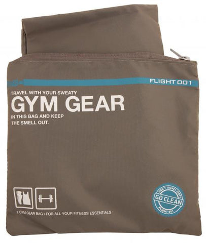 Gym Tote Bag with Storage Pouch / Grey