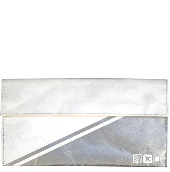 Document Holder / White - Silver