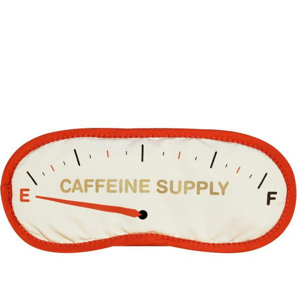 Caffeine Supply Eye Mask / Red