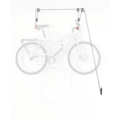 Bicycle Ceiling Hoist / Gray - Red