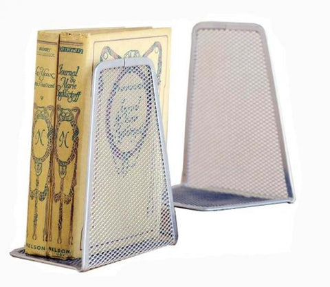 Book Ends / Silver Mesh - 2 Pack