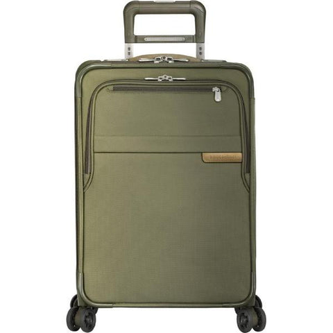 "Domestic Carry-On Expandable Spinner - Olive 22"" x 14"" x 9"""