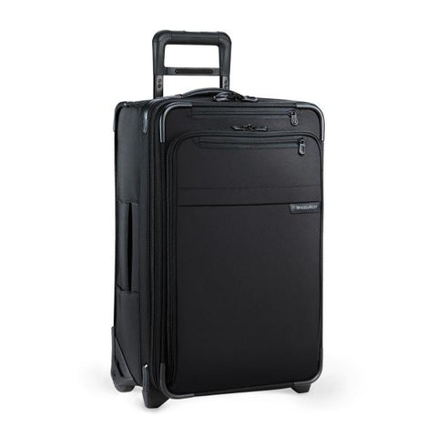 "Domestic Carry-On Expandable Upright Luggage - Black 22"" x 14"" x 9"""