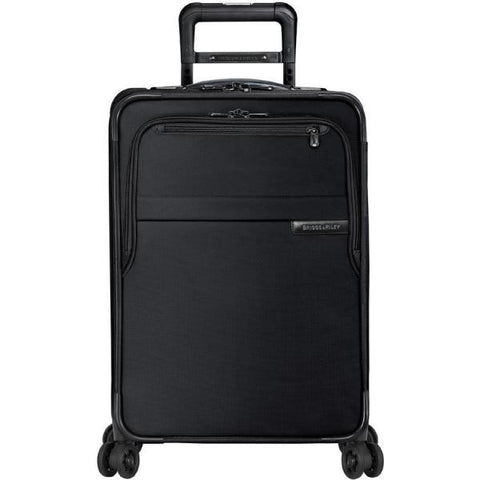 "Domestic Carry-On Expandable Spinner - Black 22"" x 14"" x 9"""