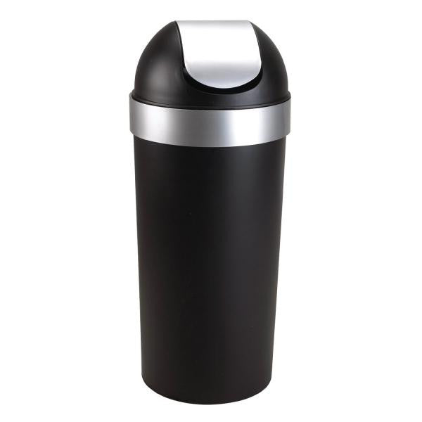 Venti Trash Can / Black-Nickel