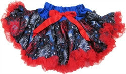 Fireworks Style Pettiskirt ~ newborn photo prop. Clearance