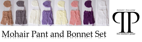 Mohair Pant and Bonnet photo prop