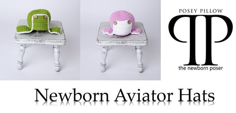 aviator newborn photography prop