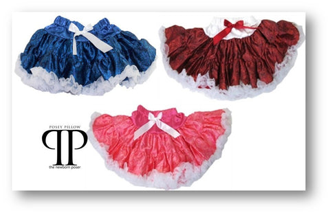 Paisley Style Pettiskirt ~ Newborn photo prop