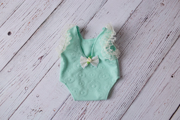 Jazmine Romper ~ newborn photo prop