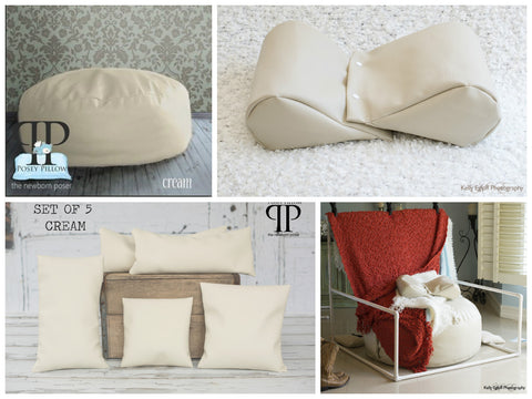 Starter Set #1 ~ Studio Size Posey Pillow, Backdrop stand, Squishy Poser & Set of 5 Positioners