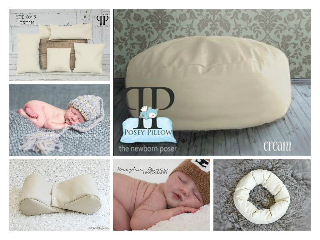 Starter set # 20 ~ Studio size Posey Pillow, Squishy Poser, Doughnut Poser, and set of 5 positioners
