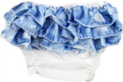 Winter Sparkle bloomers style photo prop