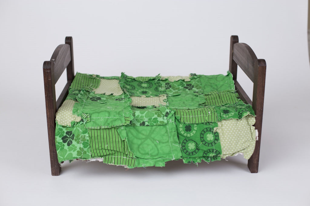 St Patrick's Day fun Rag Quilt