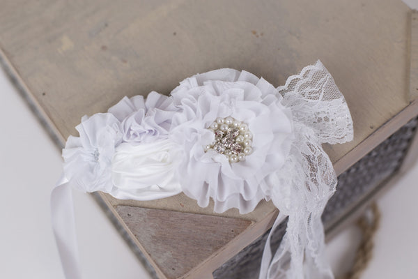 Fluffy Belly Band ~ Maternity photography props