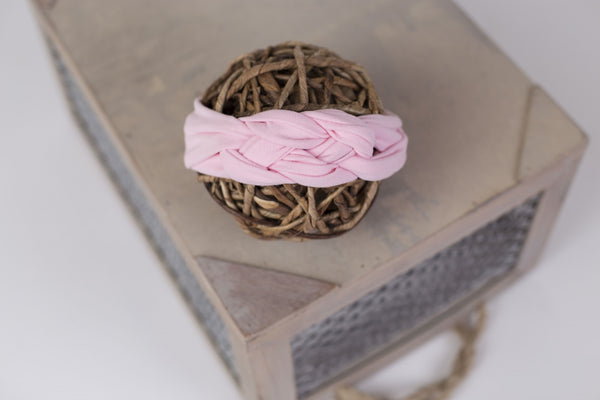 braided headband photo prop