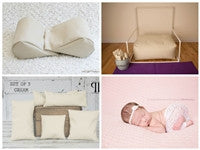 Starter Set #12 ~ Posey Pillow Rectangulum, Backdrop stand, Squishy Poser & Set of 5 Positioners
