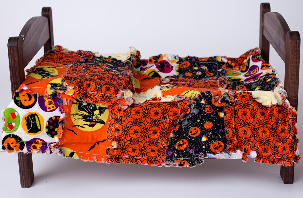 Trick Or Treat Rag Quilt