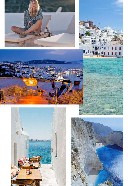 Velvet Summer Travel Series Blog: Mykonos