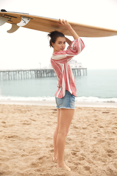 Velvet By Graham & Spencer LA Stories: Early Morning In Malibu Britt Top