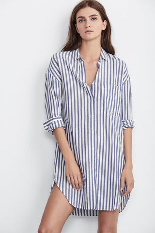 Ivy Cotton Stripe Dress
