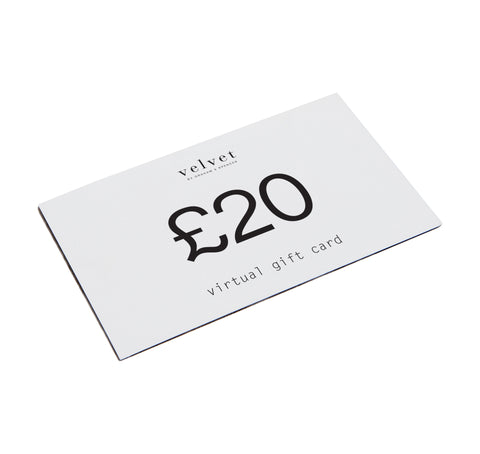 VELVET DIGITAL GIFT CARD