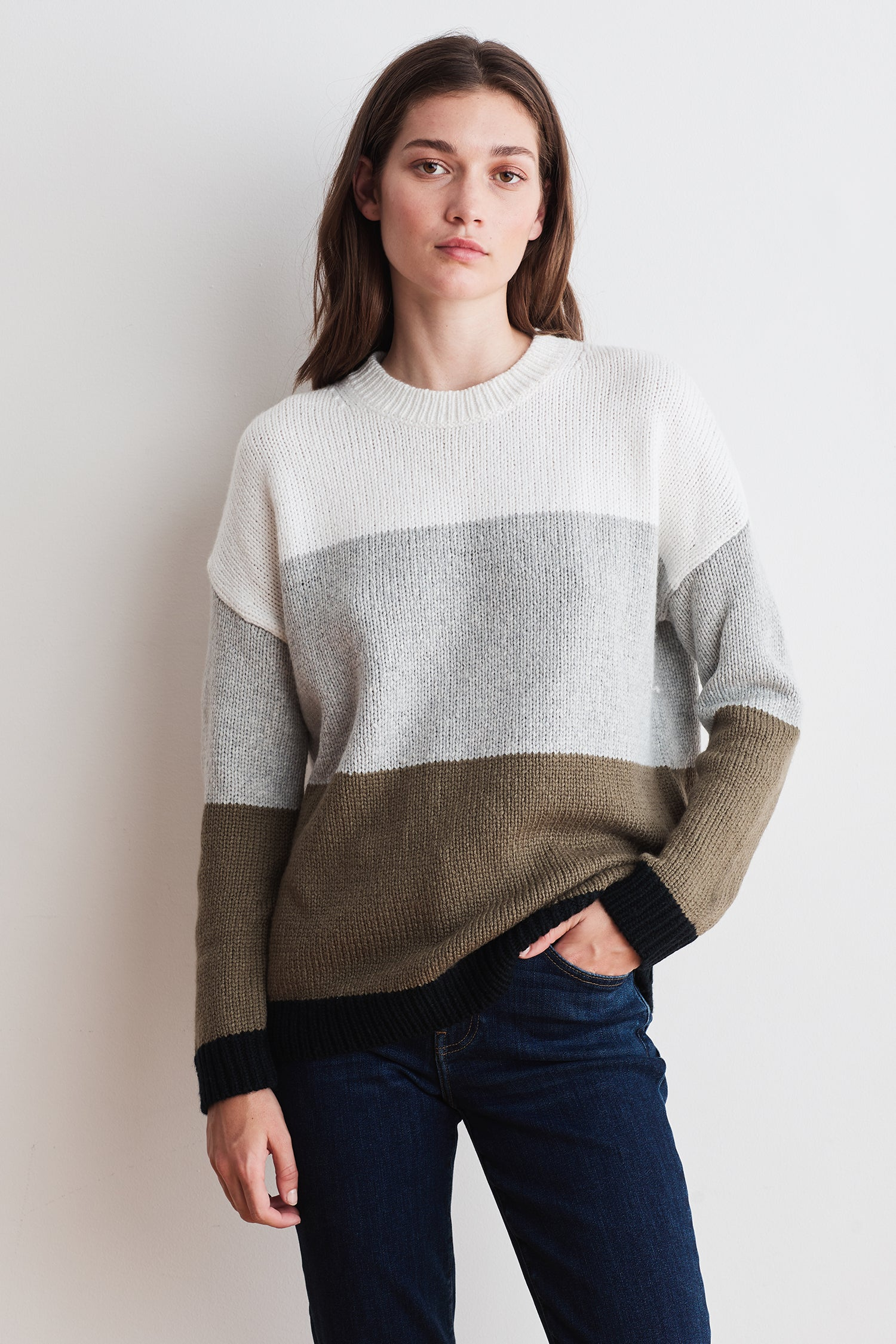 ALESSIA NOVELTY SWEATER IN MULTI