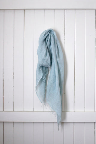 Once Was Lost AMARA SCARF in Azure Blue