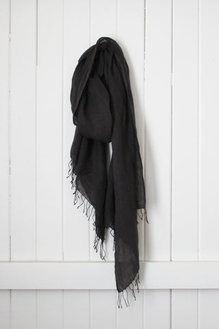 Once Was Lost AMARA SCARF in Charcoal